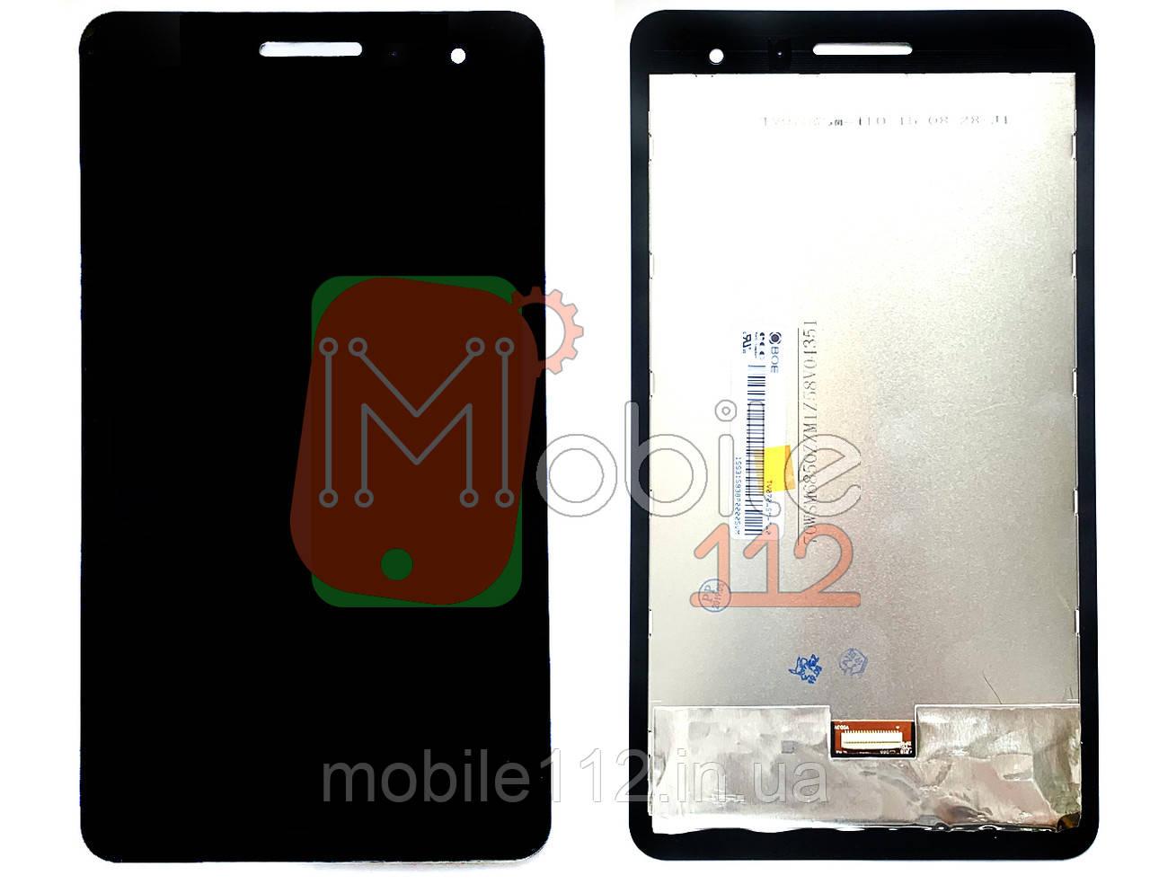 Экран (дисплей) Huawei MediaPad T1 7.0 T1-701u + тачскрин черный