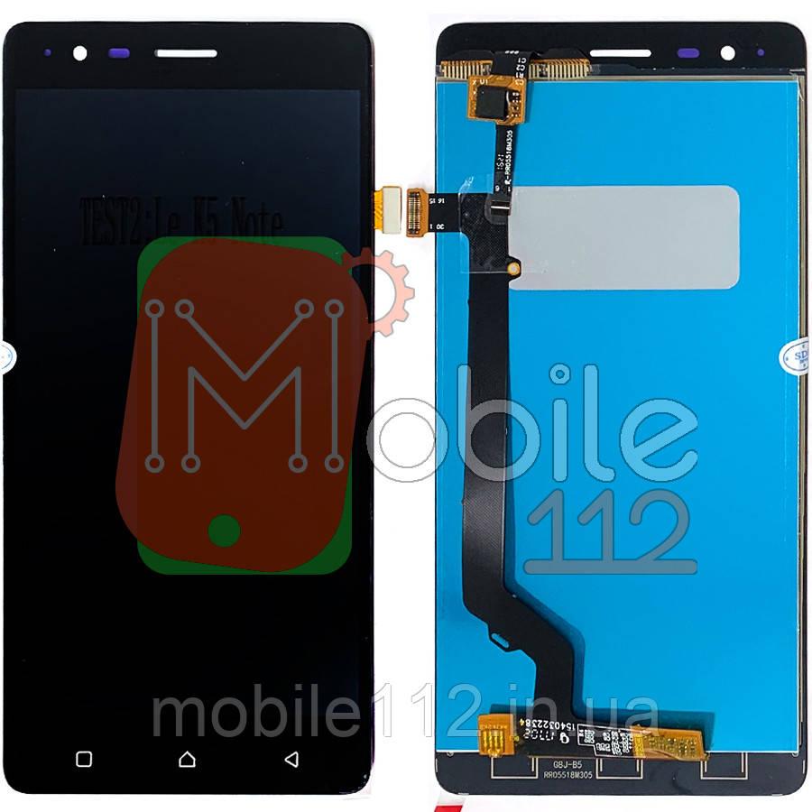 Экран (дисплей) Lenovo A7020a40 Vibe K5 Note + тачскрин черный