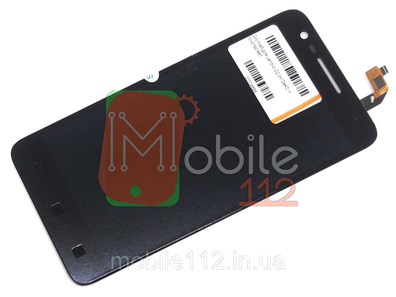 Экран (дисплей) Lenovo C2 K10a40 + тачскрин черный