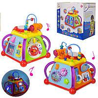 """Музыкальная игрушка KI-7048 """"Мультицентр"""" развивающая, в коробке"""