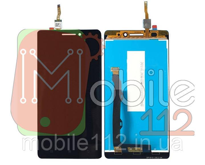 Экран (дисплей) Lenovo A7000 A7000-a A7000-t+ тачскрин 1280 x 720 черный