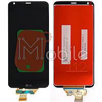 Экран (дисплей)  LG H870 G6 H871 H873 LS993 US997 VS998 + тачскрин черный оригинал Китай
