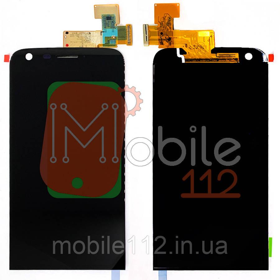 Экран (дисплей)  LG H820 G5 H830 H850 LS992 US992 VS987 + тачскрин черный оригинал Китай