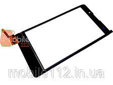Сенсор (тачскрин)  Nokia XL Dual Sim (RM-1030) черный с самойклейкой