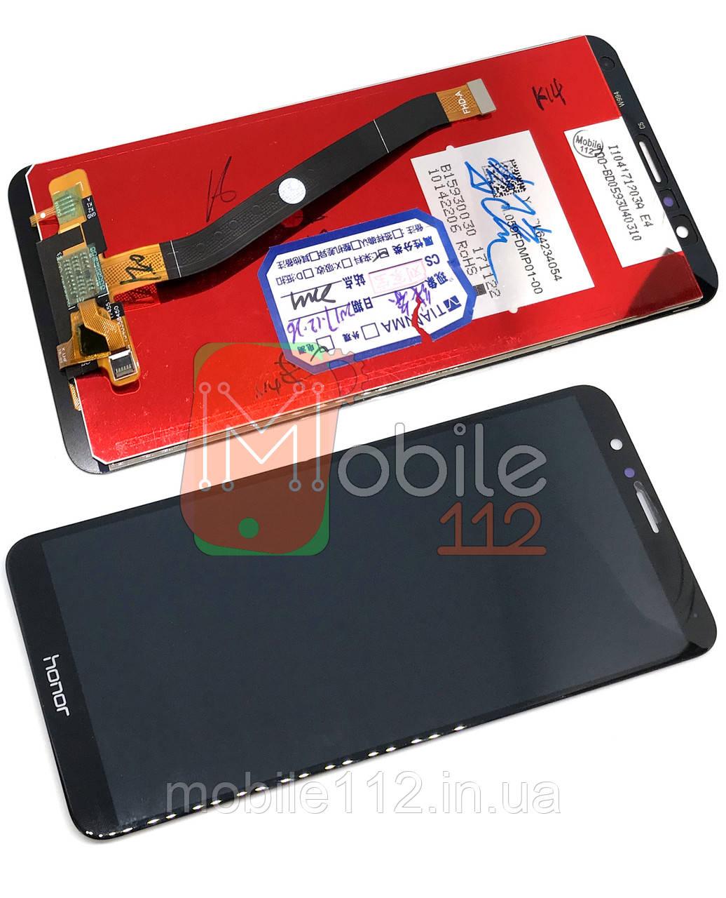 Экран (дисплей) Huawei Honor 7X BND-L21 L22 AL10 L31 + тачскрин черный