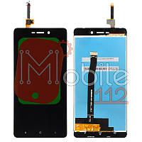 Экран (дисплей) Xiaomi Redmi 3 Redmi 3S Redmi 3X + тачскрин черный
