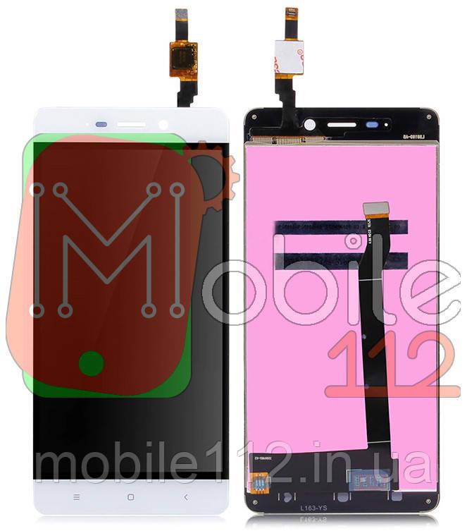 Экран (дисплей) Xiaomi Redmi 4 + тачскрин белый
