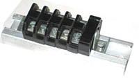 Блок зажимов наборных БЗН24-25А-2,5  6 клемм