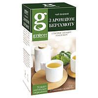 Чай Грейс Зеленый с маслом бергамота, 1.5 Г*25 ПАК. САШЕТ