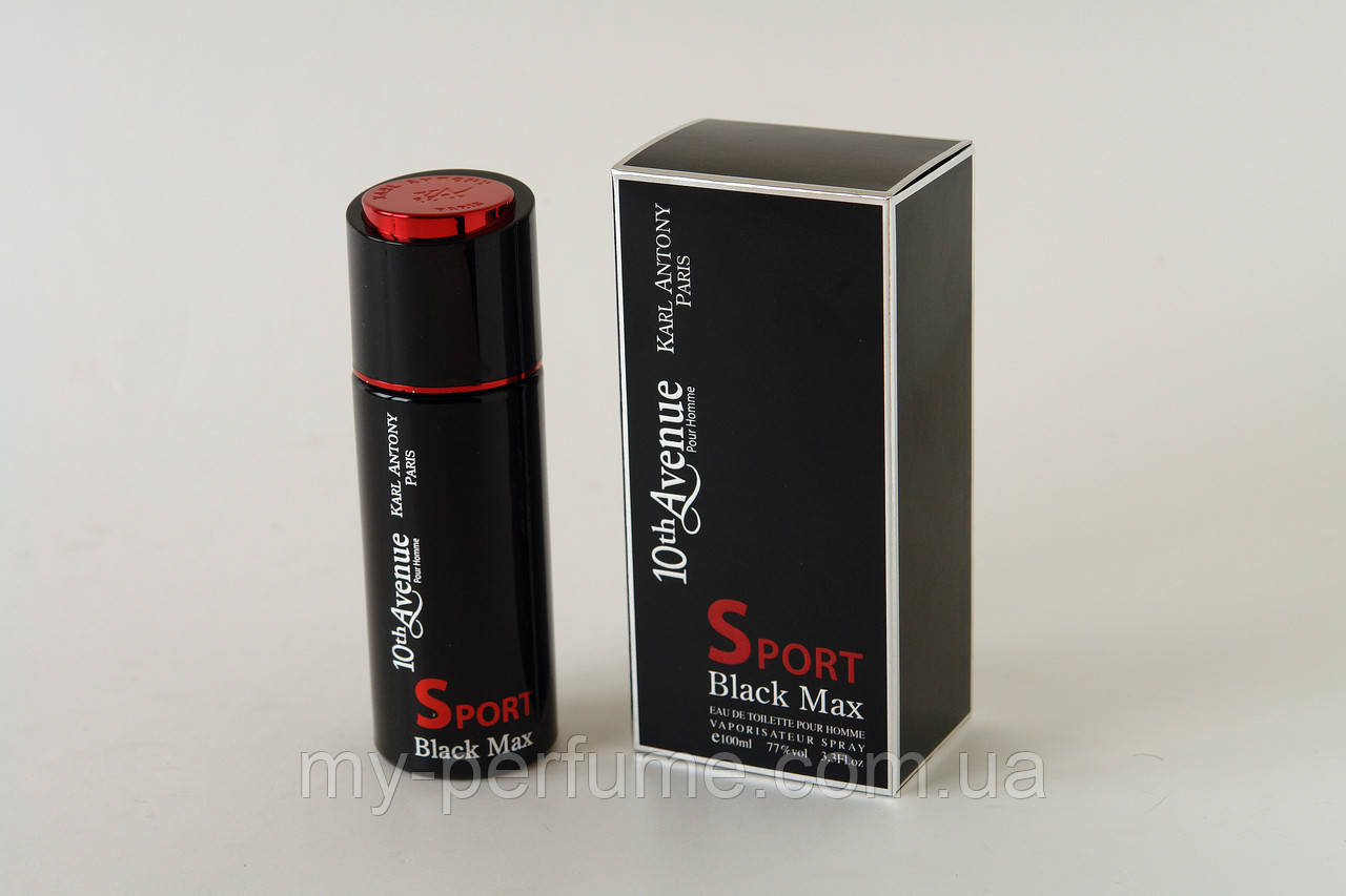 10 Avenue Black Max SPORT M edt 100 ml