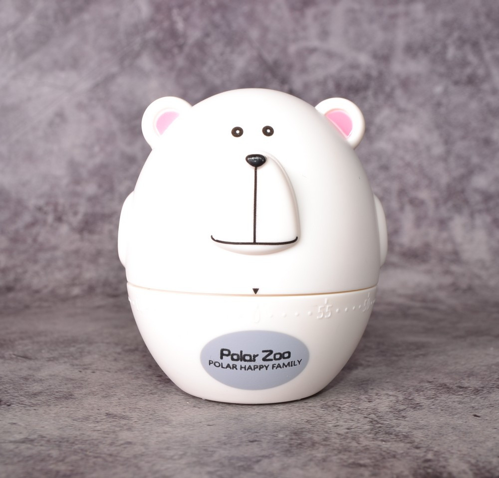 Таймер кухонный PolarZoo Bear white