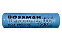 Аккумуляторный элемент Bossman NCM18650-5C - 1500 3.7В, 7.5A, фото 3