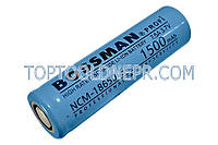 Аккумуляторный элемент Bossman NCM18650-5C - 1500 3.7В, 7.5A