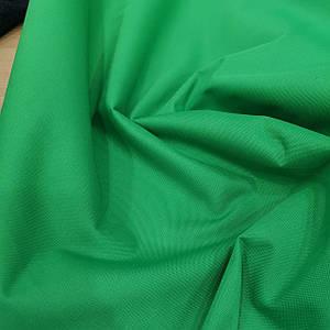 Ткань оксфорд 600d PU (полиуретан) зеленый