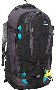Сумка-рюкзак Deuter Traveller 60+10 SL black-turquoise (3510015 7321)
