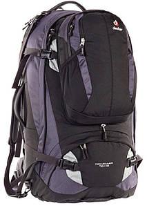 Сумка-рюкзак Deuter Traveller 70+10 black-silver (3510115 7400)