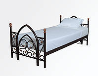 """Кровать металлическая односпальная """"Миранда"""""""