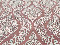 Тефлоновая ткань ДУК принт ВЕНЗЕЛЯ цвет тусклая роза