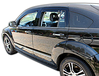 Дефлектори вікон вставні Dodge Caliber 5D 2006->, 4шт, фото 1