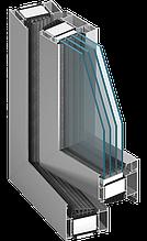 Оконно дверная система с наивысшей степенью термической изоляцииMB-104 PASSIVE