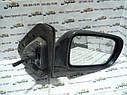 Зеркало заднего вида правое Mazda 323P BA 1994-1997г.в. хетчбек черное механическое, фото 2