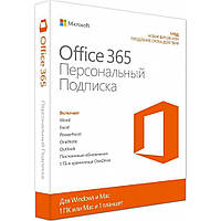 Офисное приложение Microsoft Office365 Personal 1 User 1 Year Subscription Russian Medi (QQ2-00835)
