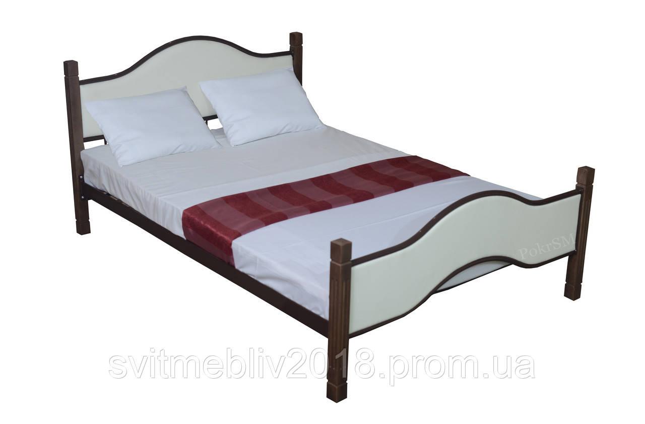 """Кровать металлическая двуспальная """"Аверса"""""""