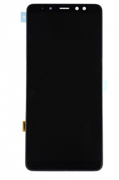 Дисплей на Samsung A730 Galaxy A8+(2018) Чёрный(Black),GH97-21534A, Super AMOLED