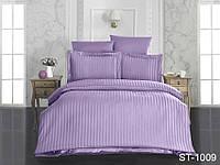 Набор постельного белья из Страйп-Сатина ST-1009