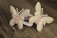 Резинки для волос Бабочки ручная работа, фото 1