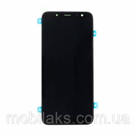 Дисплей на Samsung J600 Galaxy J6 Чёрный(Black),GH97-21931A, Super AMOLED, фото 2