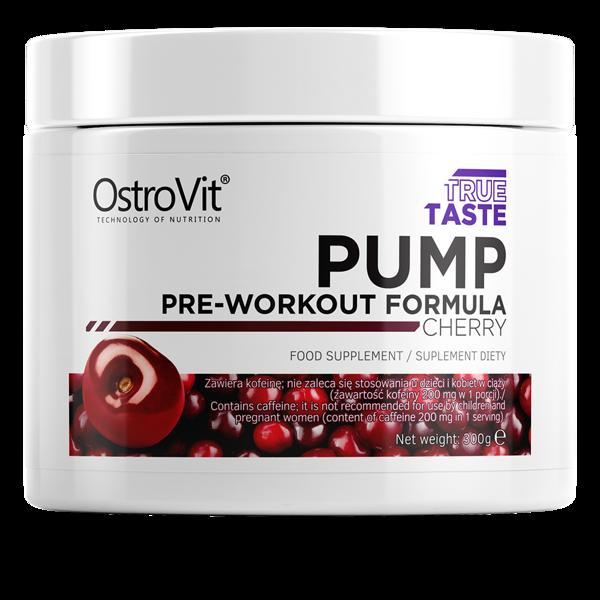 Предтрен PUMP Pre-Workout Formula NEW FORMULA 300g разные вкусы