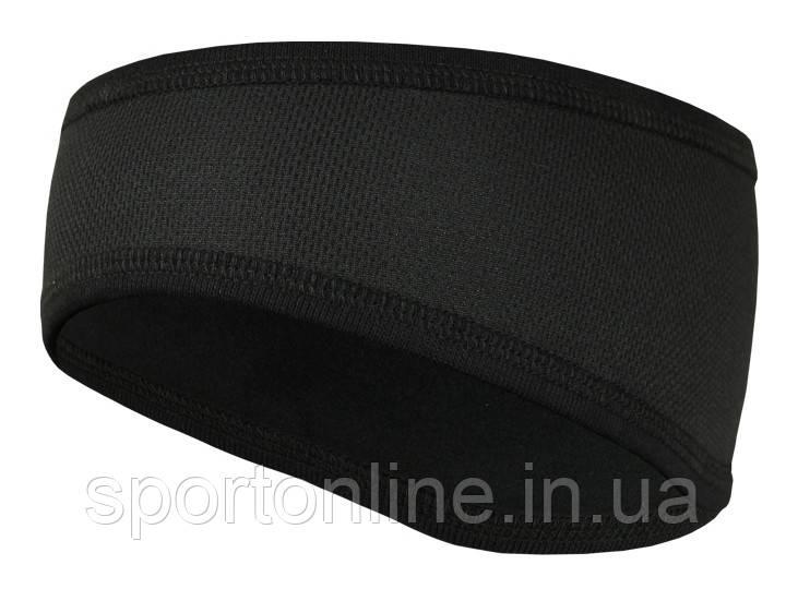 Спортивная повязка утеплённая с мембраной Radical Screw черная