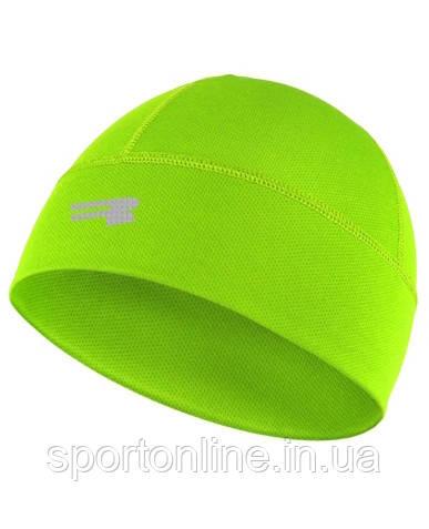 Термо шапка спортивная лёгкая Radical Spook, салатовый