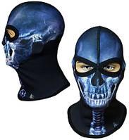 Балаклава подшлемник Radical Subscull Череп, синий