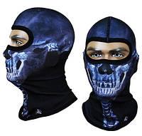 Балаклава подшлемник открытый Radical Subscull Череп, синий