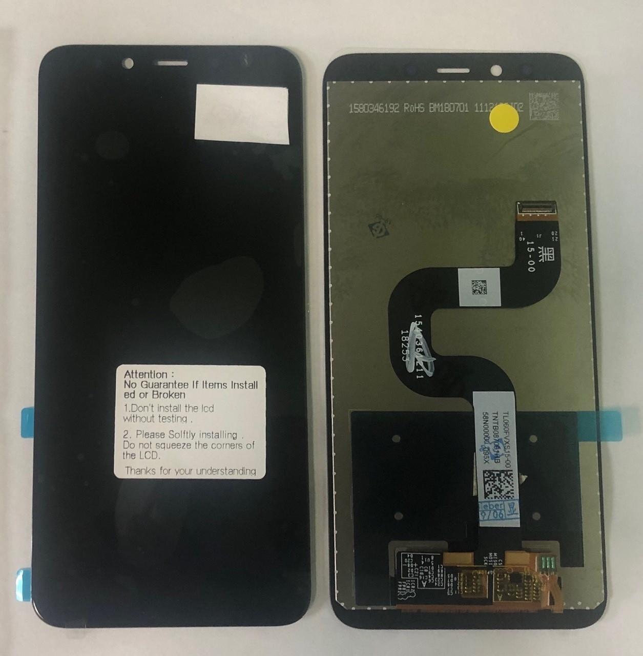 Дисплей для Xiaomi Mi A2 / Mi6x модуль в сборе с тачскрином, черный