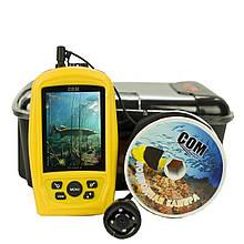 Подводная цветная видеокамера Lucky FF3308-8 с ИК подсветкой