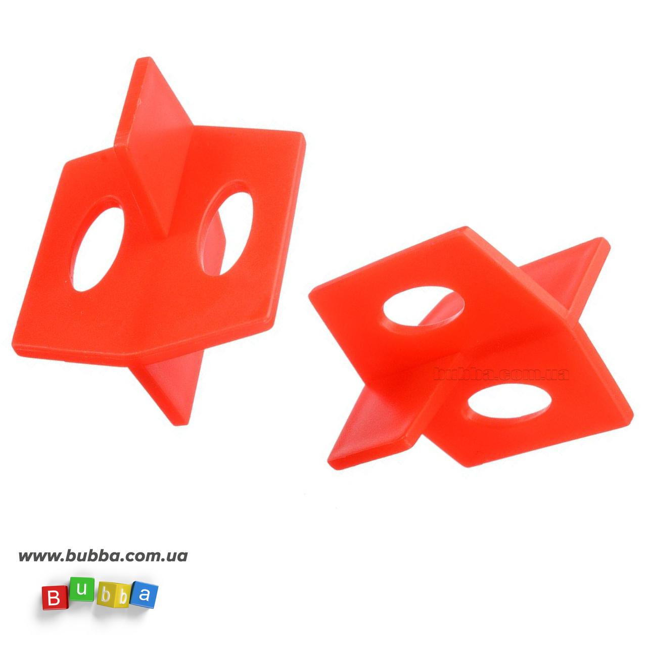 3Д крестики многоразовые (25шт), шов 2мм
