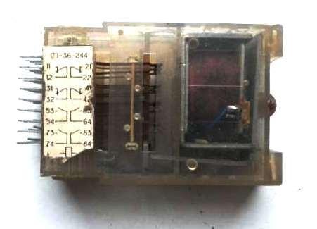Реле промежуточное ПЭ-36-244/24V