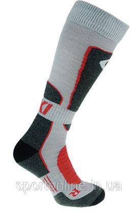 Термо носки горнолыжные, сноубордические FILMAR FACTORY SKI PROFESSIONAL, светло-серые, тёмные вставки, PRO