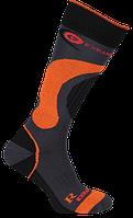 Термо носки горнолыжные Filmar Factory SKI SILTEX, чёрные с оранжевым, фото 1