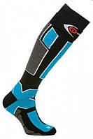 Термоноски горнолыжные Filmar Factory SKI PROFESSIONAL, черные+голубой, фото 1