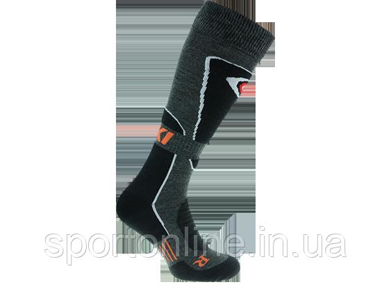 Термо носки горнолыжные, сноубордические FILMAR FACTORY SKI PROFESSIONAL, черный, серые вставки, PRO