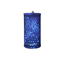 Маска-бафф утепленная Rough Radical Multi 5в1 синий с абстрактным принтом