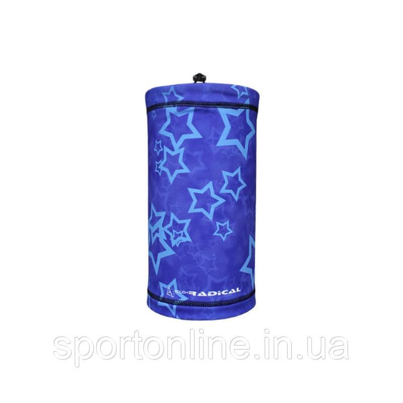 Маска-бафф утепленная Rough Radical Multi 5в1 синий со звездами