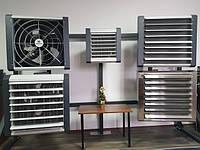Тепловентиляторы и завесы: водяные, электрические