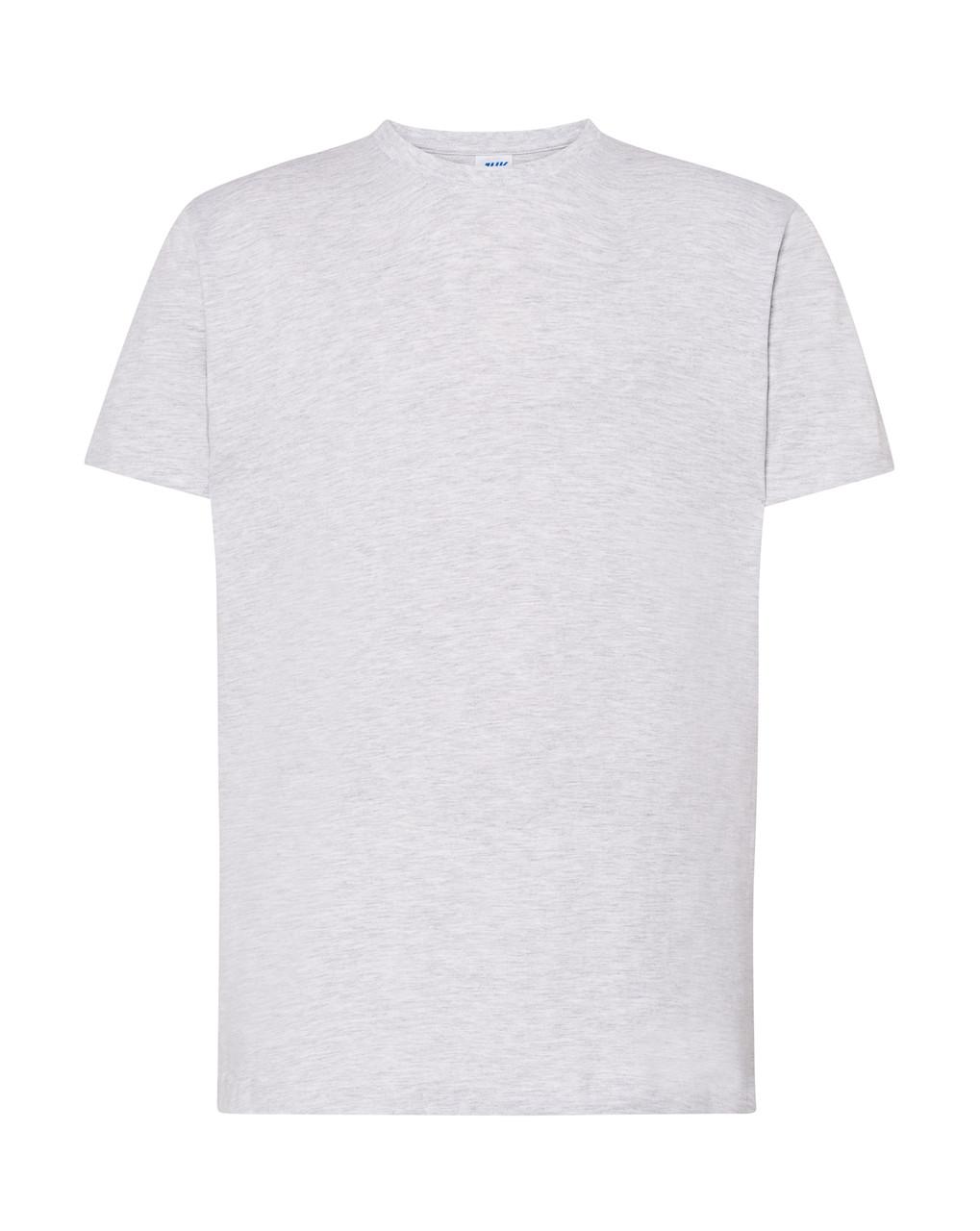 Мужская футболка JHK REGULAR PREMIUM T-SHIRT цвет светло-серый меланж (AS)