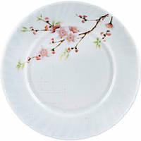 """Тарелка стеклокерам. 176мм 7"""" мелкая Sakura уп.6шт"""
