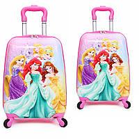 Детский чемодан Принцессы Диснея 2в1, фото 1